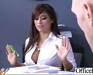 (reena sky) breasty office wench white women in hard style group-sex movie-27