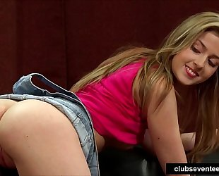 Superb legal age teenager model acquires nailed