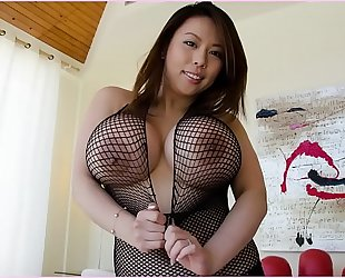 Bangbros - tigerr benson is a hawt oriental with massive bazookas and a obese arse!