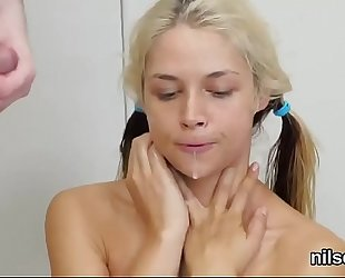 Wicked sweetie was brought in anal asylum for harsh therapy