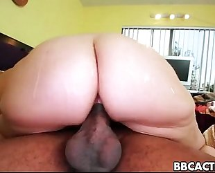 Sarah vandella takes on large dark cockk penis