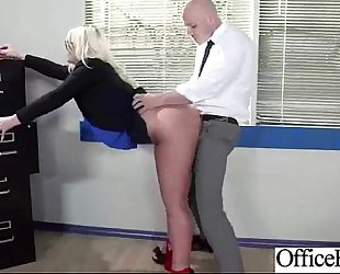 Bigtits wife (julie cash) acquire hard style nailed in office vid-22