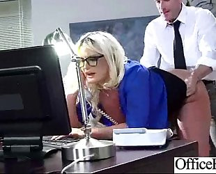 Worker breasty BBC slut (julie cash) acquire sluty and group-sex hard style in office movie-22