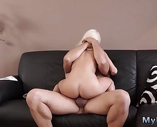 Blowjob for her guy and mad ally's brother ' compeer's sister fascinating