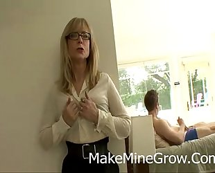 The ally of my mama finds me masturbating