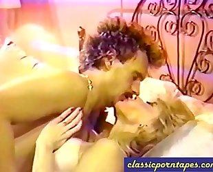 Blonde bitch in retro 80s episode
