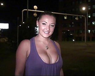 Big milk shakes star krystal swift preparing to go to public group-sex fuckfest