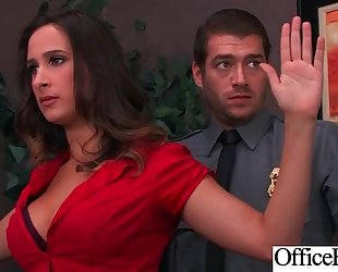 (ashley adams) white wife with round large mambos in hard style sex in office clip-03