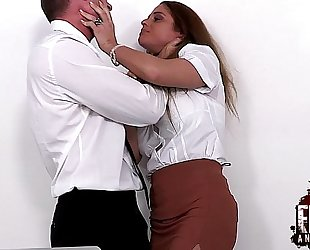 Cathy heaven is coarse drilled and fisted