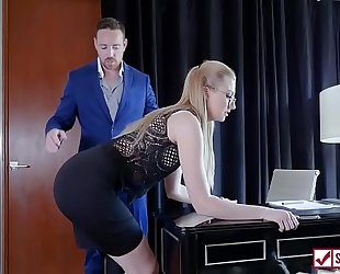 Alexa grace her boss fantasy comes true