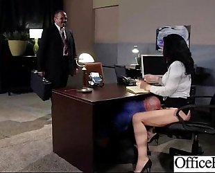 Office sex tape with hungry for rod whore slutwife (jayden jaymes) clip-19
