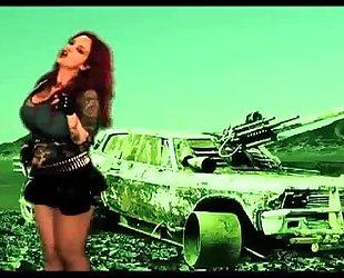 Sabrina sabrok - the blitzkrieg bop (official movie clip) rockstar largest breasts