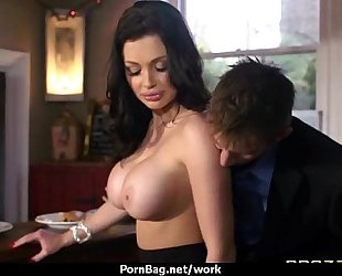 Hottest office fuck with breasty sweetheart 29