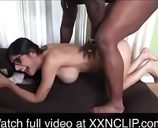 Mia khalifa punished by immodest dark chap - see greater amount at xxnclip.com