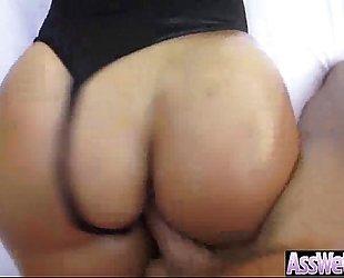 Oiled large ass BBC slut (kelsi monroe) love unfathomable anal hard sex video-17