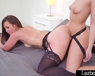 (kelsi monroe & khloe kapri) lesbos cuties make fascinating sex vid-17