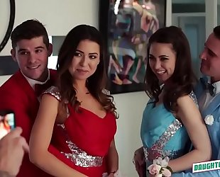 Melissa moore and riley reid celebrating their prom night