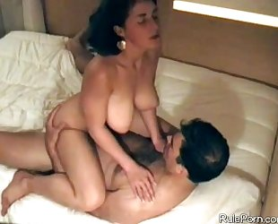 Big tit horny white wife hidden webcam homemade porn